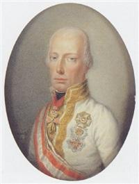 kaiser franz i. von österreich by carl de bourdon hummel