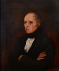 portrait of the french prime minister francois guizot by george frederick watts