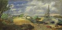 a landscape by arthur small
