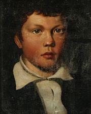 portrait of the artist's nephew by fritz (georg urban f.) jürgensen