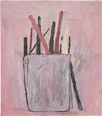 brushes by philip guston