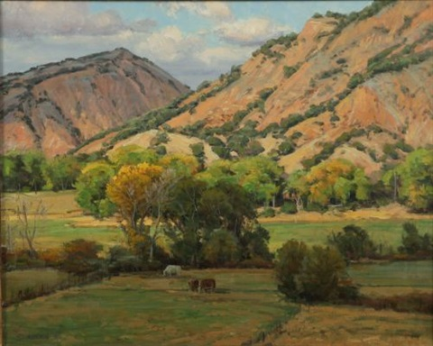 new mexico landscape by clyde aspevig