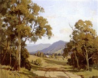 landscape, australia by erik (sir) langker