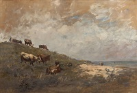 cattle at malahide by nathaniel hone the younger