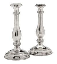 pair of candlesticks by d.j. aubert