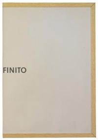 infinito by giovanni anselmo