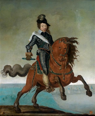 portrait présumé de louis xiii by french school 17