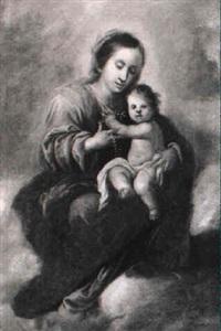 vierge à l'enfant by francisco meneses osorio