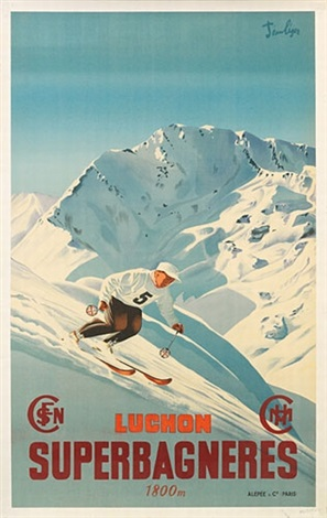 superbagneres/luchon by jean leger
