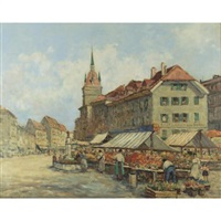 a swiss market by dennis ainsley