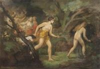 diana on the hunt by hugo böttinger