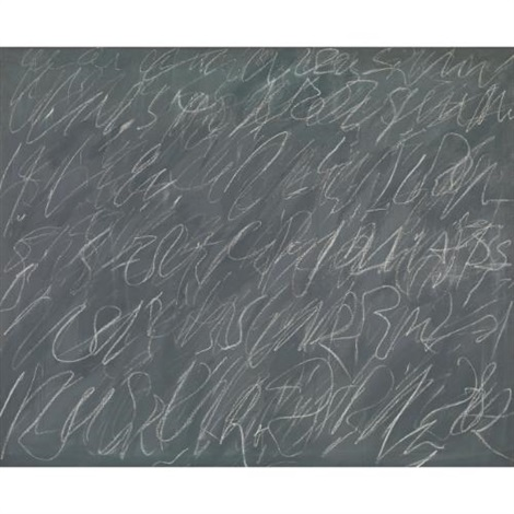 untitled new york city by cy twombly