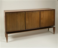 three door sideboard, no. 1102 by gio ponti