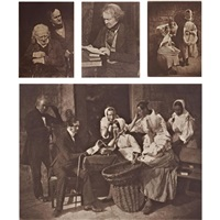 portraits and landscapes (20 works) by david octavius hill