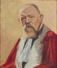 portrait d'un juge by gerard ambroselli