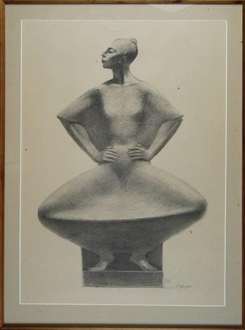 portrait of a woman by enrique alferez