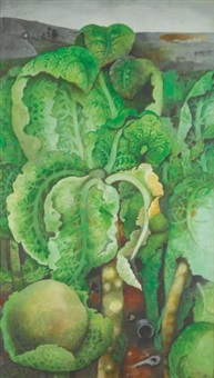 cabbages by edward burra