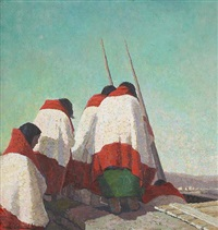 hopi women by laura adams armer