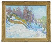 les neiges de mai by nicolas gloutchenko