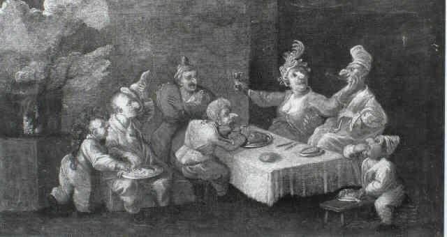 banchetto di nani by enrico albricci