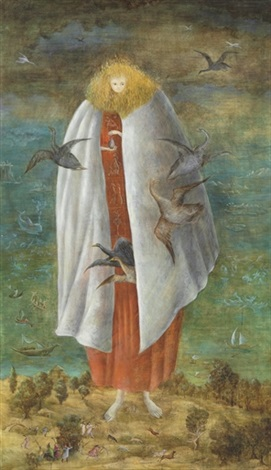 the giantess by leonora carrington