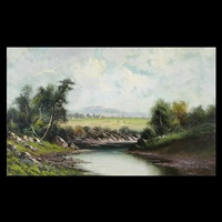 riverbed landscape by william weaver armstrong