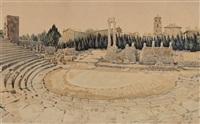 le théâtre antique d'arles by léo lelee