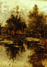 a couple fishing by henry thomas jarman
