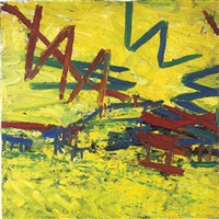 primrose hill, summer by frank auerbach
