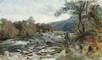 the island pool on the orchy by john smart