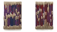 double wall hanging by sheila hicks