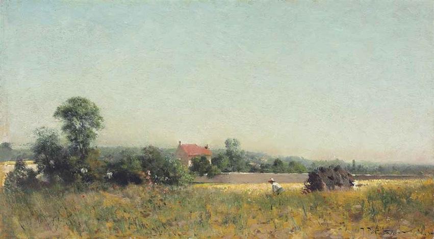 dans les champs france by ivan pavlovich pokhitonov