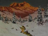 mountain landscape by barmak akram