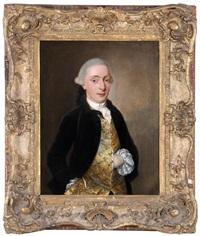 portrait of a gentleman by john singleton copley