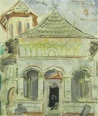 brancoveanu's church-mogosoiaia by alexandru phoebus