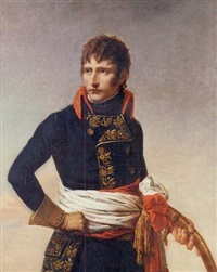 portrait of napoleon bonaparte as first consul, holding a sabre by andrea appiani