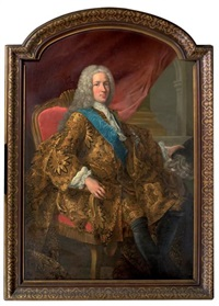 portrait (un prince stuart?) by antonio david
