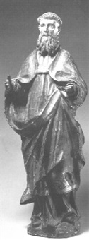 figure of a bishop by portuguese school (17)