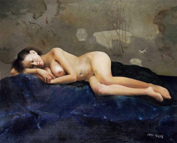 女人体 by luo fahui