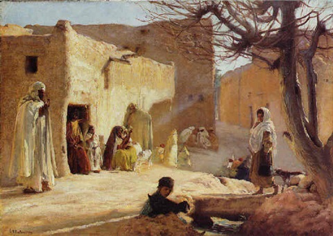 au sud de lalgérie by louis joseph anthonissen