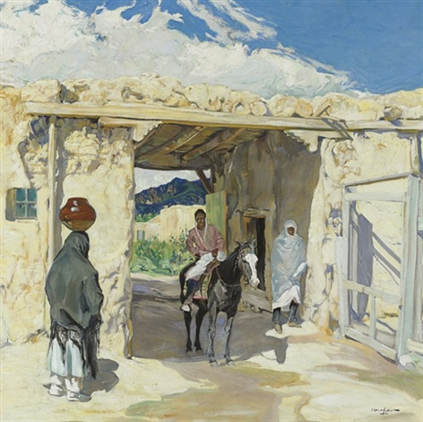 the gateway by walter ufer