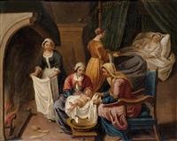 el nacimiento de la virgen by peter van lint