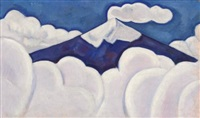 popocatépetl by marsden hartley