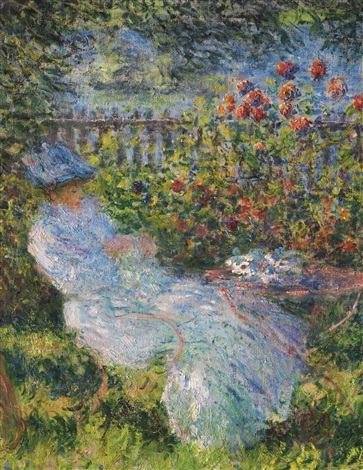 Alice hosched au jardin by claude monet on artnet for Au jardin d alice
