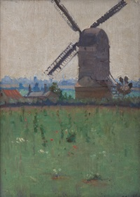 a suffolk mill by nora gurdon
