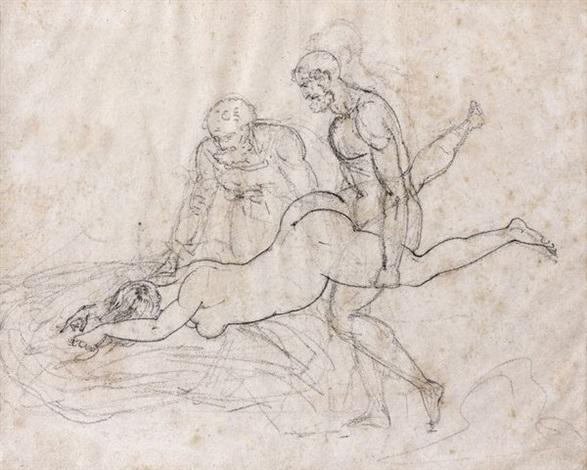 suzanne et les vieillards by théodore géricault