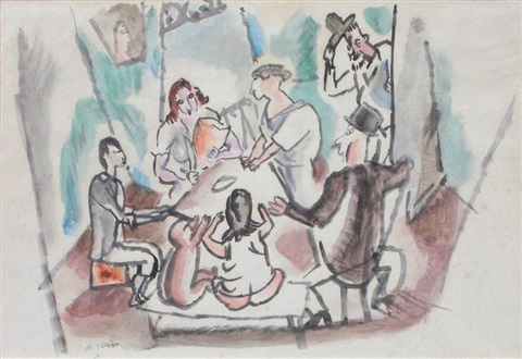 a table by jules pascin