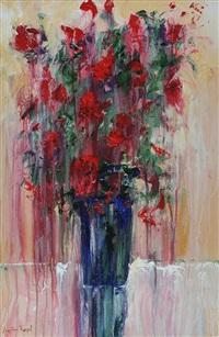 vase of flowers by angelina raspel
