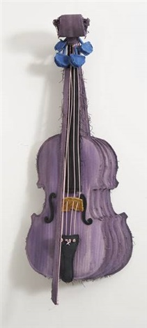 sliced stradivarius purple collab wcoosje van bruggen by coosje van bruggen and claes oldenburg