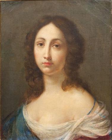 portrait de femme by cesare dandini